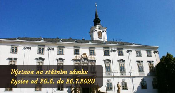 Výstava obrazů - zámek Lysice - Dagmar Zemánková
