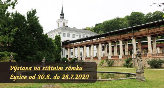 Výstava obrazů - zámek Lysice - SERVER_NAME