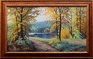 obraz Podzim v Rychlebských horách