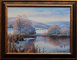obraz Zimní pohledy