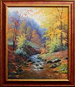 obraz U Nýznerovských vodopádů