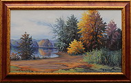 obraz Rychlebské hory v podzimním hávu