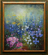 obraz V květech léta II.