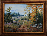 obraz Cestou z lesa
