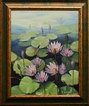 obraz Kvetoucí lekníny