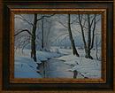 obraz Pod sněhem