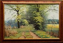 obraz Jaro u Třemešských rybníků II.