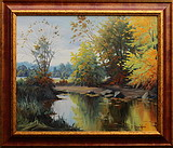 obraz Tiché zákoutí rybníka