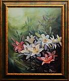 obraz V květu lilií