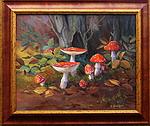 obraz Lesní zátiší