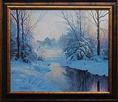 obraz V zimní náladě