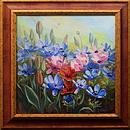 obraz V květu sasanek