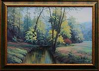 obraz Podzimní ráno v Mariánském údolí