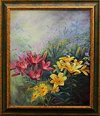 obraz Z malířčiny zahrady I.