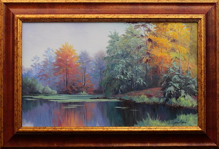 Prodejní galerie - Podzim u rybníka