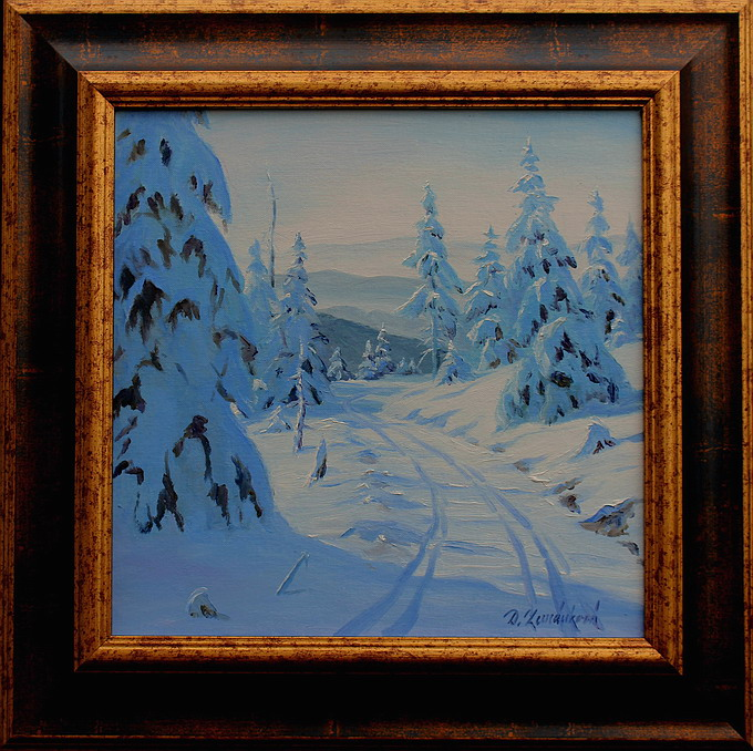Prodejní galerie - Zimní Jeseníky