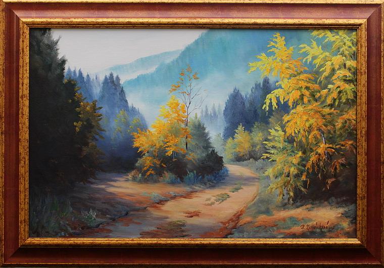 Prodejní galerie - Mlhavé ráno v Jeseníkách