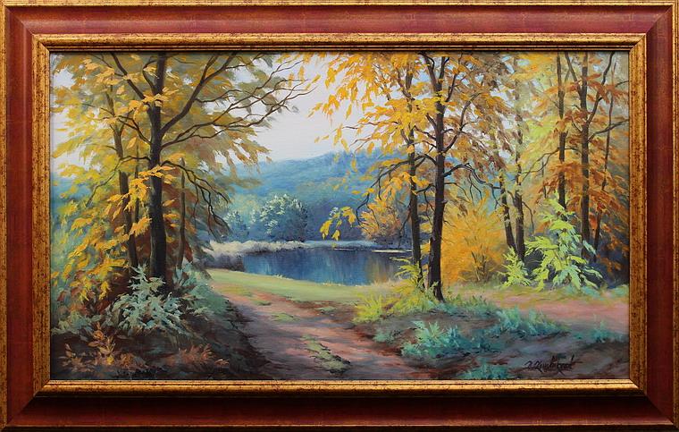 Prodejní galerie - Podzim v Rychlebských horách