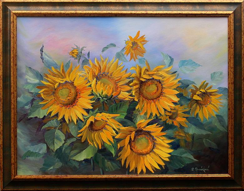 Prodejní galerie - Kouzlo slunečnic
