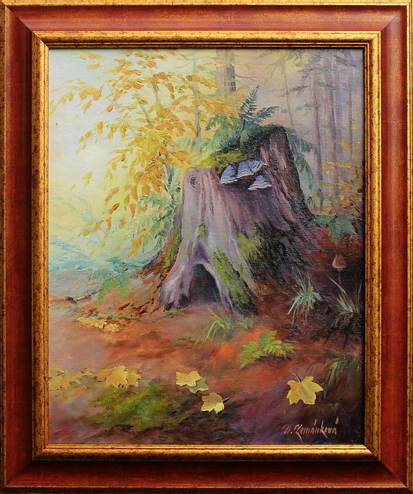 Prodejní galerie - Lesní zátiší II.