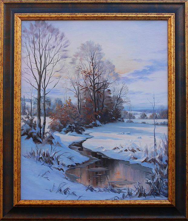Prodejní galerie - Zimní zasnění