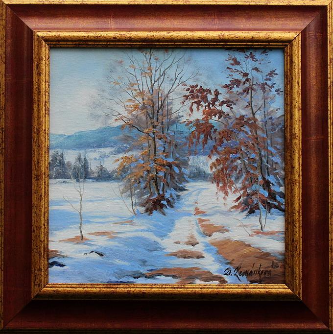 Prodejní galerie - Koncem zimy