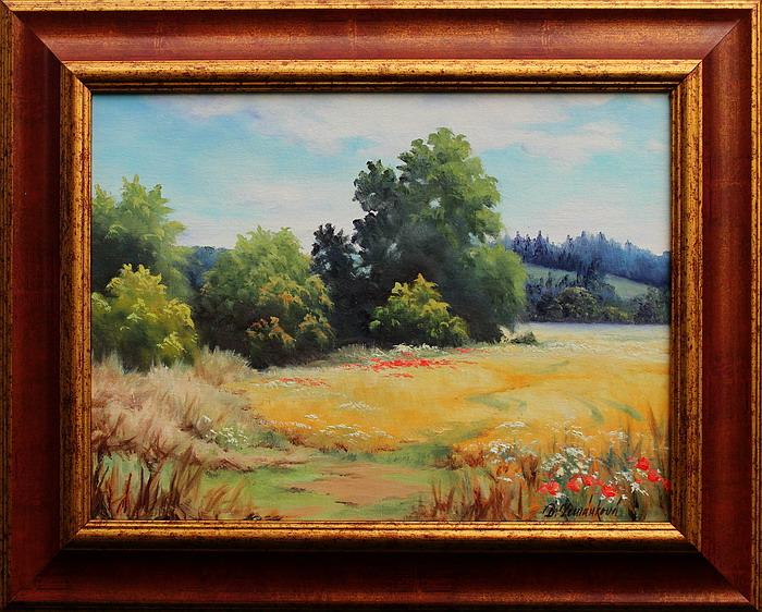 Prodejní galerie - Letní krajina na Úsovsku