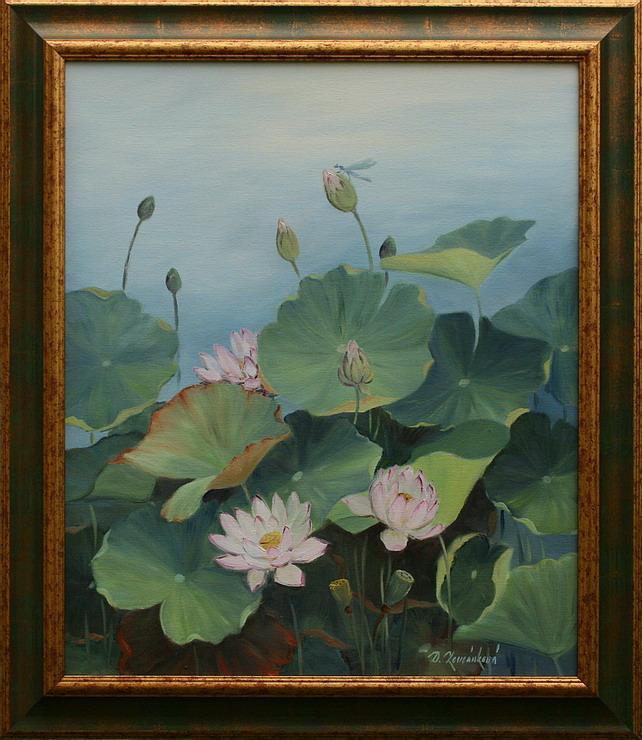 Prodejní galerie - Tajemství květu lotosu I.