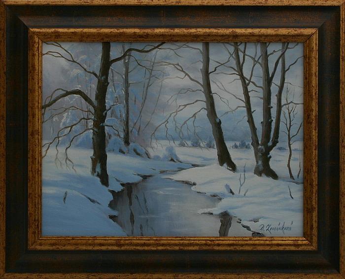 Prodejní galerie - Pod sněhem