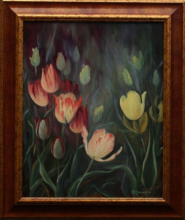 Prodejní galerie - Tulipány