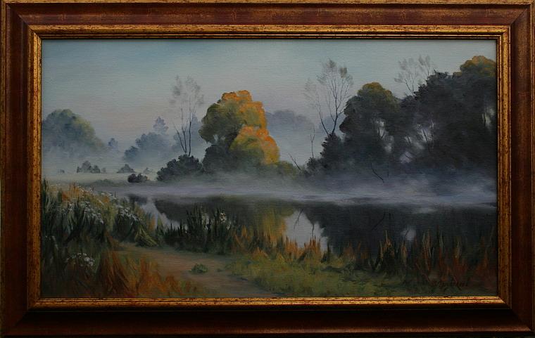Prodejní galerie - V ranním oparu