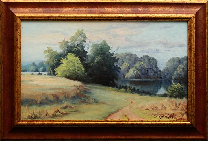 Prodejní galerie - V tichu rybníka III.