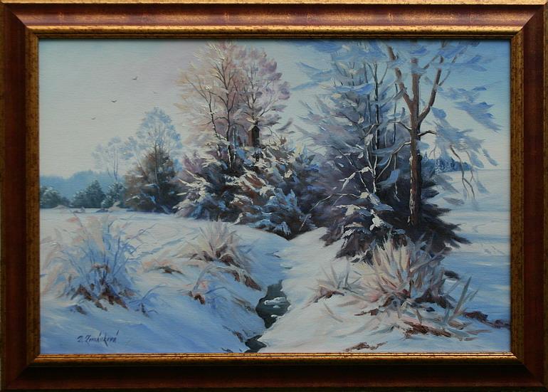 Prodejní galerie - Zimní snění