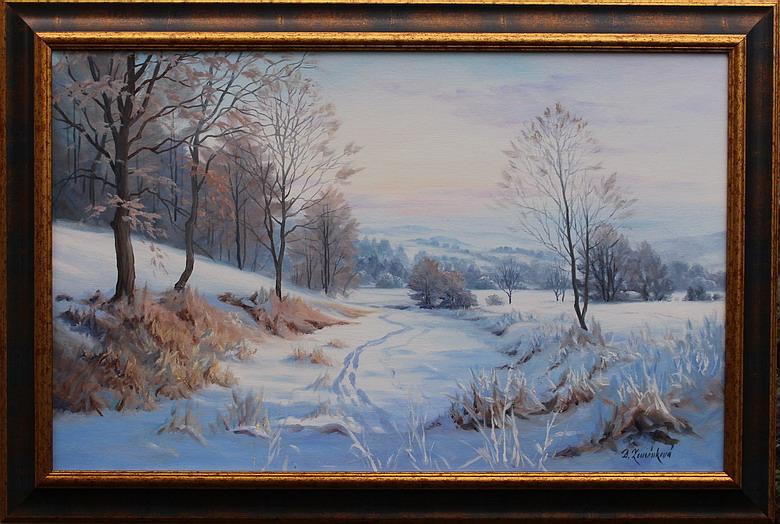 Prodejní galerie - Zimní krajinou Jesenicka