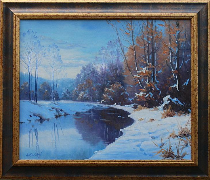 Prodejní galerie - Chladné ráno