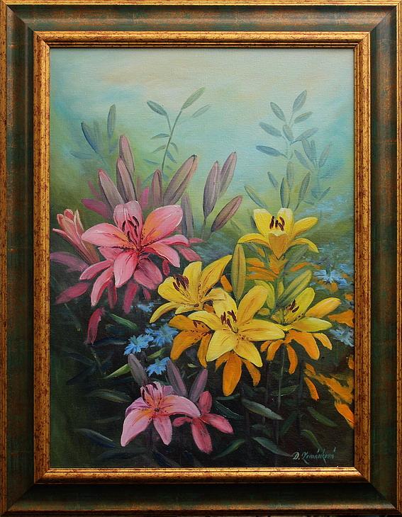 Prodejní galerie - V květu lilií II.