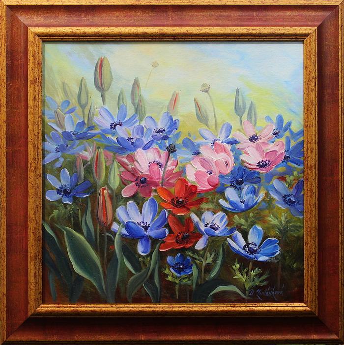 Prodejní galerie - V květu sasanek