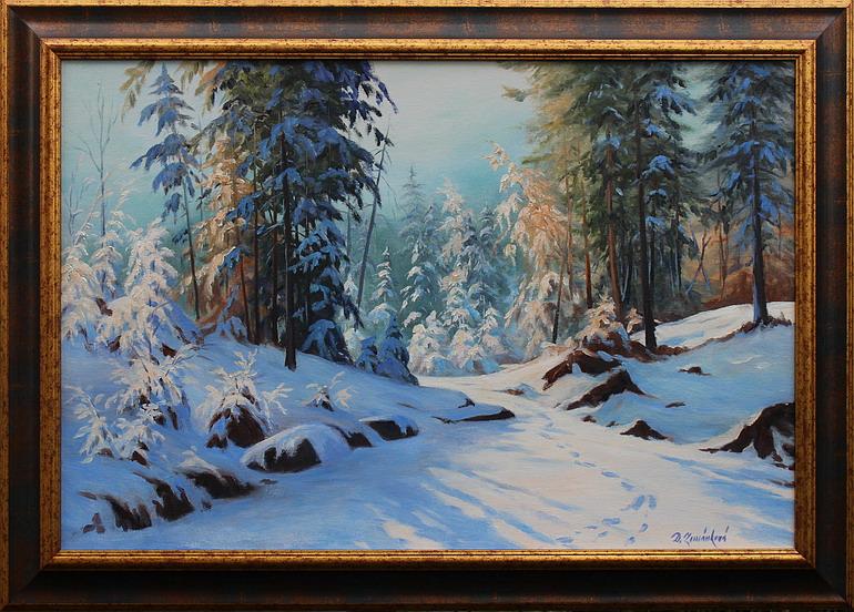 Prodejní galerie - V tichu lesa