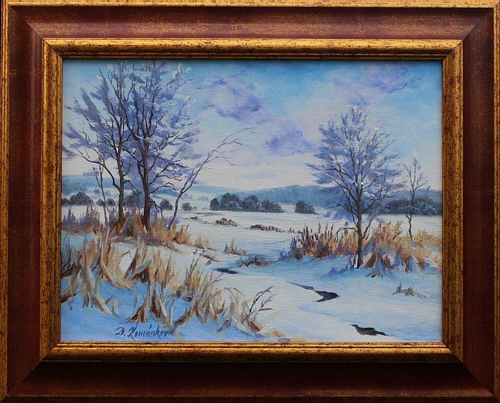 Prodejní galerie - Zasněžená krajina