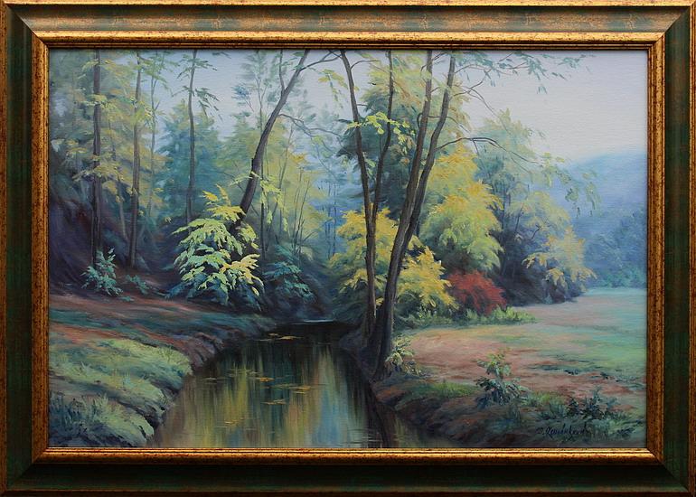 Prodejní galerie - Podzimní ráno v Mariánském údolí