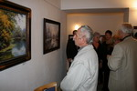 Foto obrazů z výstavy