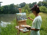 malířka Dagmar Zemánková